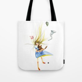 HOLD ON TOTO Tote Bag