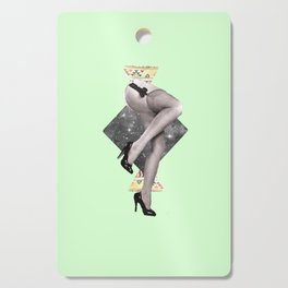 Abstract Legs Cutting Board