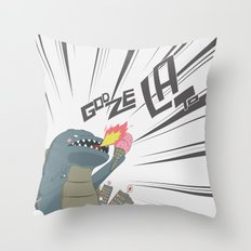 Godzelato! - Series 2: GOAHHHHHH! Throw Pillow
