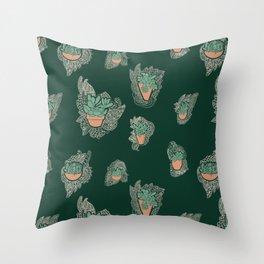 Desert Lace Throw Pillow