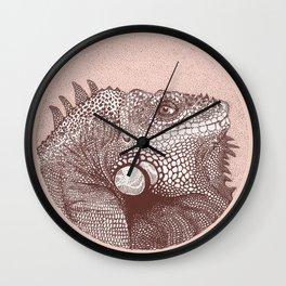Iguana Wall Clock