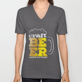 Craft Beer Quote | Homebrewing Beer Pale Ale Lager Unisex V-Neck