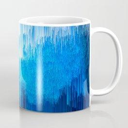 Rhythmic - Abstract Pixel Art Coffee Mug