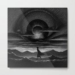 Drawlloween 2015: Eye Ball Metal Print