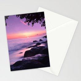 Carabbean Sunset2 Stationery Cards
