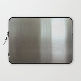 Industrial Brushed Stainless Laptop Sleeve