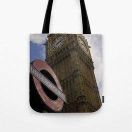 London Underground at BigBen Tote Bag
