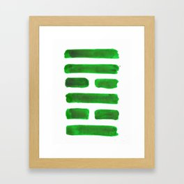 The Family - I Ching - Hexagram 37 Framed Art Print