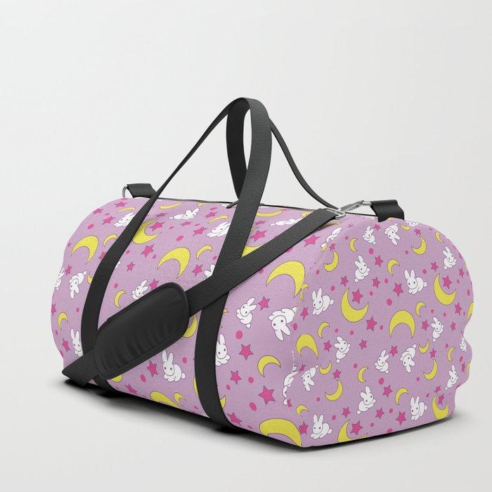 Usagi's Pattern Old Style Duffle Bag
