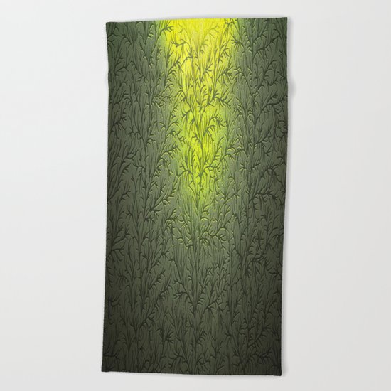 Sun Fall Beach Towel