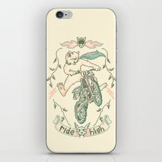 Motocross-Stitch Kitteh iPhone & iPod Skin