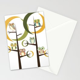 Owl Be In Pieces Stationery Cards