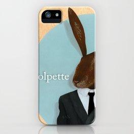 Paul Pet In Suit iPhone Case