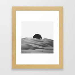 idle. Framed Art Print