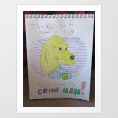 Bootleg Series: Crime Man Art Print