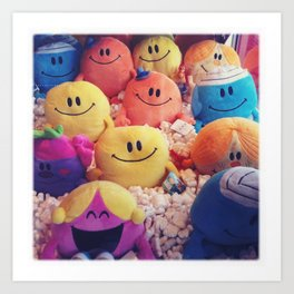Mr Men Art Print