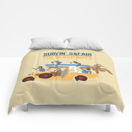 Surfin Safari Comforters