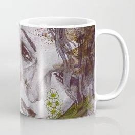Cleopatra's Sling: Sunset (sweet eyes, flower girl portrait) Coffee Mug