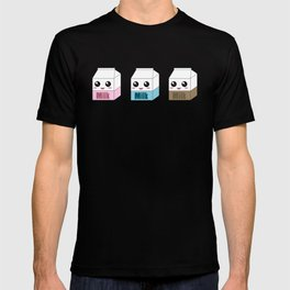 Kawaii Milk Cartons T-shirt