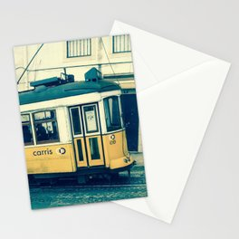 Yellow Tram Stationery Cards