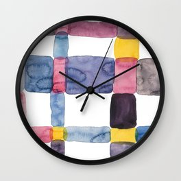 the daily creative project: abstract - the crap on the wall Wall Clock