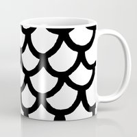 scales Mugs featuring Scales by Geryes