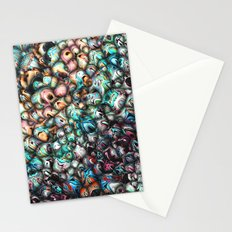 Textural 3D Abstract Stationery Cards