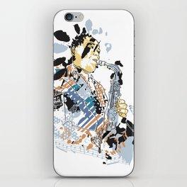 BirdParkerJazz iPhone Skin