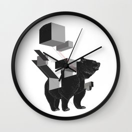 bear_deconstructed Wall Clock