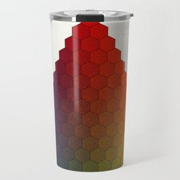 Lichtenberg-Mayer Colour Triangle variation, Remake using Mayers original idea of 12+1 chambers Travel Mug