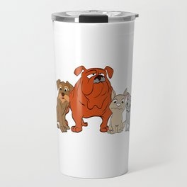 "A Nice German Tee For Dog Lovers ""Frauchens Trinknapf"" Which Means ""Mistress's Drinking Bowl""T-shirt Travel Mug"