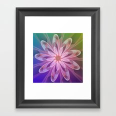 Dream flower Framed Art Print