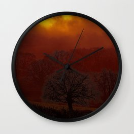 Fog 34 Wall Clock