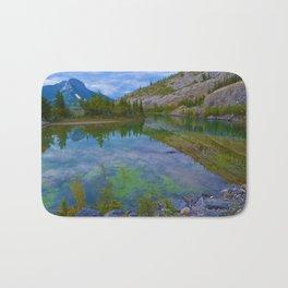 Views along Highway 16 E, Jasper National Park, Canada Bath Mat