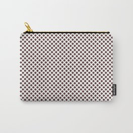 Rum Raisin Polka Dots Carry-All Pouch