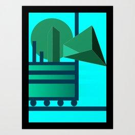 No more running Art Print