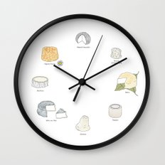 Goat Cheese Wall Clock