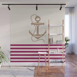 AFE Gold Nautical Anchor Wall Mural