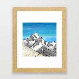 Mt Everest Framed Art Print