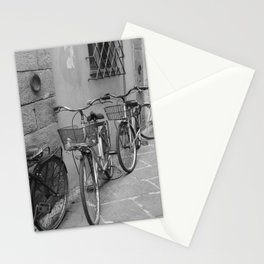 Bicycles in Lucca Stationery Cards