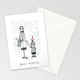 A Few Parisians by David Cessac: Quai Branly Stationery Cards