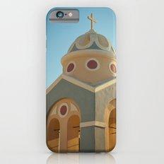 Greek island chapel Slim Case iPhone 6s