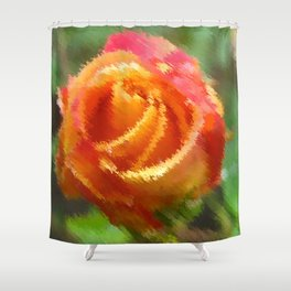 Oh but a Rose Shower Curtain