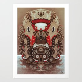 """Kokeshi Doll"" Art Print"