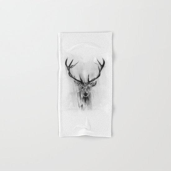Red Deer Hand & Bath Towel