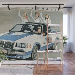 Union 76 Grand National Regal T-type Indy Pace Car Wall Mural