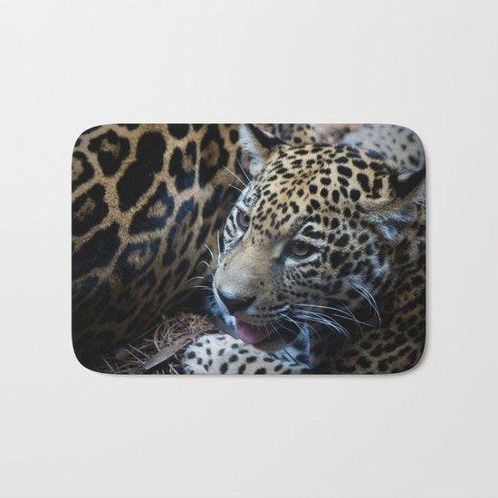 Jaguar Cub Bath Mat