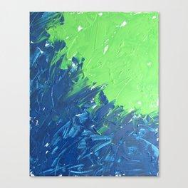 Blue & Green, No. 1 Canvas Print
