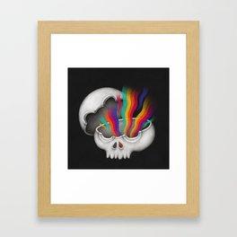 Insideout - Skull Framed Art Print