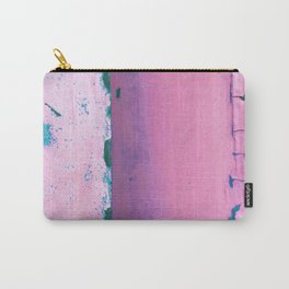 Rusted Tiers Purple and Forest Green Carry-All Pouch